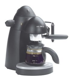 Mr. Coffee ECM20 Steam Espresso Maker, Black * Continue to the product at the image link.
