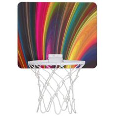 Fractal Art 4 Mini Basketball Hoops