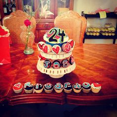 November 24 Birthdays Inspirational Giant Chocolate Cupcake And Cupcakes I Made For My Boyfriend S 24th