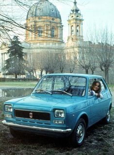 Fiat 127 - looks sexy in this picture...