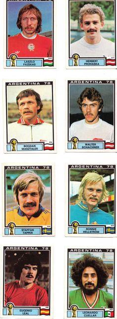 autocollants vintage panini_football 78