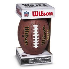 I spied with my Target eye: FOOTBALL WILSON TOUCHDOWN OFFICIAL, from the Weekly Ad http://weeklyad.target.com