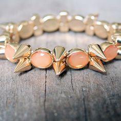 Coral jewels via Olive Lane