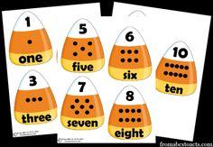 candy corn math for preschoolers