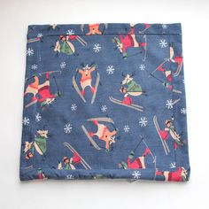 Pillow Made from Flannel Pajamas  PJs by MaidenJane