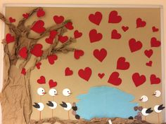 Kolej etkinlikleri, sevgi panosu, sevgililer günü panosu, doğa sevgisi
