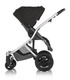 Britax Affinity Stroller in Black - Reversible Seat #custom #baby #sleek
