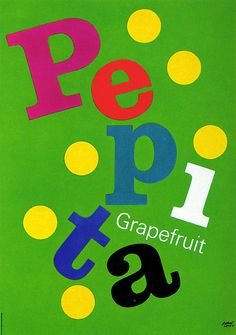 Herbert Leupin -  Pepita Grapefruit (Switzerland)