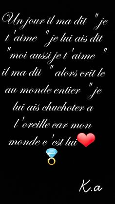 Je t'aime K.a Mommy Tattoos, Jolie Phrase, Relationship, Messages, Motivation, Mantra, Superman, Couples, Sweet
