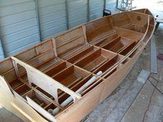 Photo: Wooden Boat Building, Boat Building Plans, Sailing Lessons, Wood Boat Plans, Diy Boat, Wood Boats, Boat Stuff, Boat Design, Outdoor