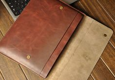 Macbook Cover Macbook Case leather 15 Macbook Pro by XLeather