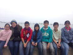 Paseando en Lima en primavera. Ya está saliendo el sol!!!