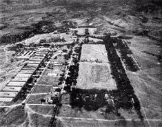 Looking west on Fort Stotsenberg, nestled around the parade ground. Bataan Death March, Subic, War Medals, Air Force Bases, Prisoners Of War, Us Army, World War Ii, Philippines, City Photo