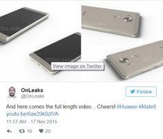 cool tech Aparecen nuevas imágenes del Huawei Mate 8
