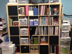Ikea Kallax, Shelving, Bookcase, The Unit, Home Decor, Shelves, Decoration Home, Room Decor, Shelving Units