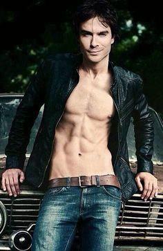 Ian Somerhalder man he's hot