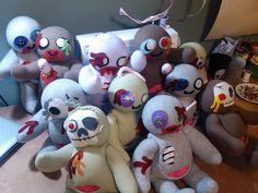 Zombies! by Handmade Stuffs, via Flickr