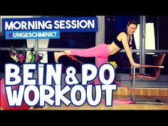Bestes Beine Po Training für zuhause | Morning Session #ungeschminkt | VERONICA-GERRITZEN.DE - YouTube