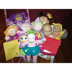 Mother's Day Surprise for my little girls! Their dolls are giving them Mother's Day cards.