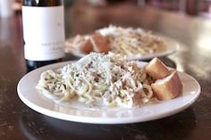 $25 Dinner for 2 and Bottle of Wine Special January 14th through January 19th - with a bottle of Chardonnay.