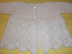 La Dolce Duchessa: Lace Baby Sweater