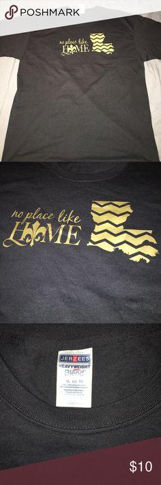 Louisiana Pride Tshirt Louisiana Tshirt-NWOT-Never Worn-XL Jerzees Tops Tees - Short Sleeve