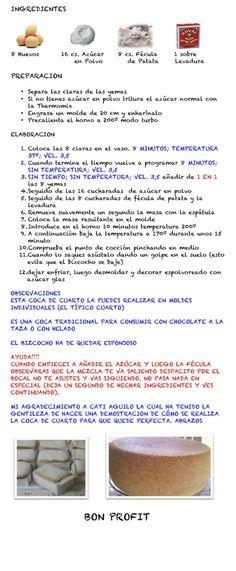 .: COCA DE CUARTO (RECETAS THERMOMIX)