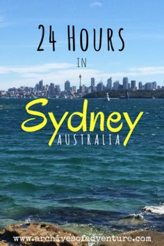 There is so much to see and do in Sydney. If you have a long layover, or just a really tight schedule, here& how you should spend 24 hours in Sydney. Perth, Brisbane, Melbourne, Sydney Australia Travel, Visit Australia, Western Australia, Australia Visa, Australia Trip, Queensland Australia