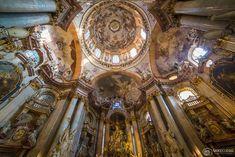 Interior of St Nicholas Church, mala Strana, Prague Prague Christmas Market, Prague Photography, St Nicholas Church, Prague Travel, Kirchen, Christmas Photos, Dom, See Picture, Dream Vacations
