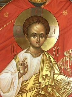 Byzantine Icons, Orthodox Icons, Virgin Mary, Ikon, Jesus Christ, Lord, Children, Face, Artwork