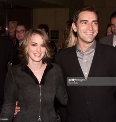 Winona Ryder and Ben Chaplin at the premiere of 'Lost Souls' at the... News Photo   Getty Images