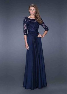 Evening Gowns With Sleeves
