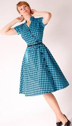 Bettie Page Clothing Zara Dress - not purchased from ModCloth but sooo Retro and cute, totally their style!