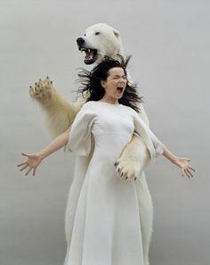 Björk Guðmundsdóttir - Musician, lyricist, composer, actress, model, environmentalist, humanitarian, eccentric.