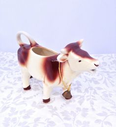 Vintage Cow Jug by LavenderRoseCottage on Etsy