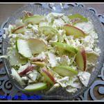 Apple,Cabbage & Cottage Cheese Salad