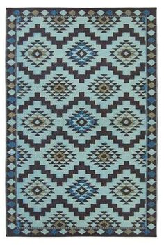 TheRegal Reversible Rug is a beautiful rug suitable for outdoor or indoor use, in any space. Inspired by the stunning mosaic designs of the Mediterranean.