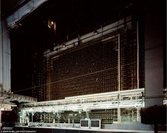 The Manhattan Project. B Reactor Front Face, Source of Nagasaki Bomb Plutonium, Hanford Nuclear Reservation, WA 1944 First Atomic Bomb, Nuclear War, Nuclear Apocalypse, Nuclear Technology, Washington State History, Engineering Works, Manhattan Project, National Laboratory