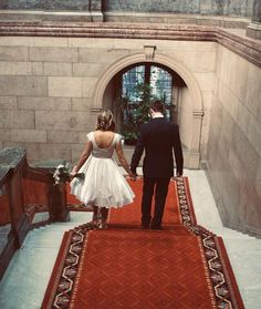 We love this. <3 Sheffield Town Hall, Grand Staircase, Weddings, Beautiful, Grand Stairway, Wedding, Marriage