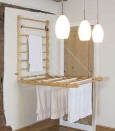 Laundry Ladder In Ash