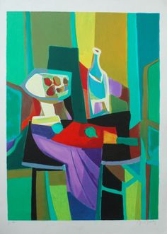 Marcel Mouly Limited Edition Signed and Numbered Lithograph with COA   eBay