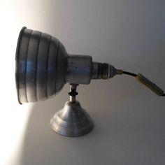 Art-Deco Strahlerleuchte oder Industrielampe