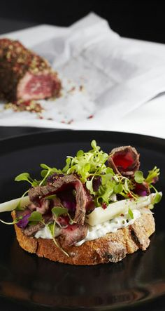 Spicy Beef Pastrami Toast Saga, Spicy, Tacos, Toast, Mexican, Beef, Dishes, Ethnic Recipes, Food