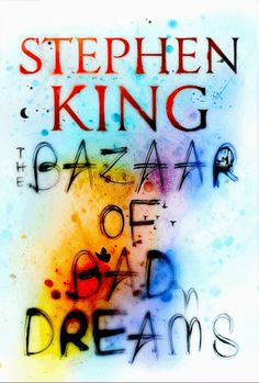 The animated cover for Stephen King's Bazaar of Bad Dreams