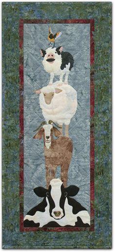 PineNeedles.com : Piggy-back Ride quilt by McKenna Ryan