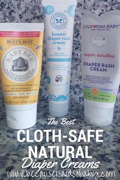 The BEST Natural Cloth-Safe Diaper Creams