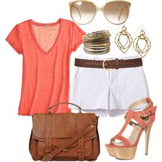 Summer, created by tamara-ann-shows on Polyvore