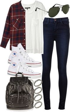Untitled #1284 by im-emma featuring lace up high top sneakers