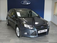 NOW SOLD - Ford Focus 1.6 125 Zetec at Swanson Ford. Please call 01626 352000  #Ford #Focus #Zetec #Hatchback #Devon #Swanson Ford