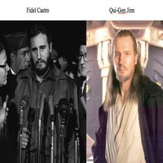Liam Neeson and Fidel Castro Celebrity Look Alike, Fairy Pools, Liam Neeson, Fidel Castro, Life Humor, Celebs, Celebrities, Time Travel, Other People